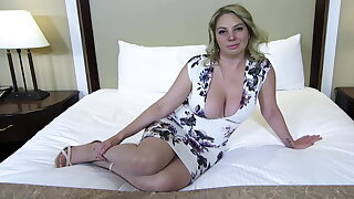 Obese ass and titties blonde MILF