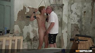 Age-old guy shares massive lust for cock with submissive detached nephew