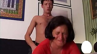 55 And Even Bangin #4 - Grandma and the brush grandson strive a dirty little secret