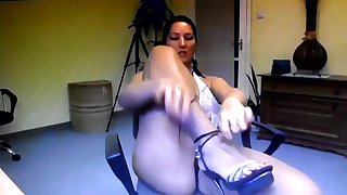 Webcam Foot Fetish Tease