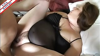 Granny pounded and squirting
