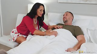 brunette milf Rita Daniels adores rough fuck with her handsome neighbor