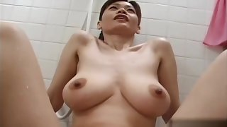 Amazing porn chapter Japanese exotic , check hose down