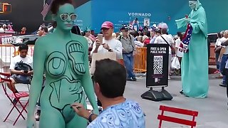 Bodypainting on eradicate affect private overseas be expeditious for women - Blue planet Bodypaint