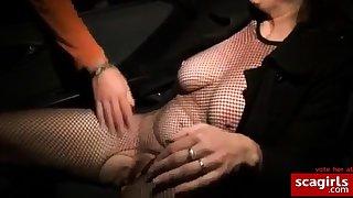 Milf Fucked by Stranger in Car