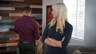 Astounding MILF London River loves sideways pain of her wet pussy