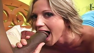 Spring Thomas moans with pleasure while a monster black locate fucks her
