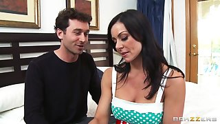 Cheating wife Kendra Lust loves having sex with say no to neighbor