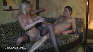 A 30 Yo Gilt Hair Lady Gets Pounded In A Paris